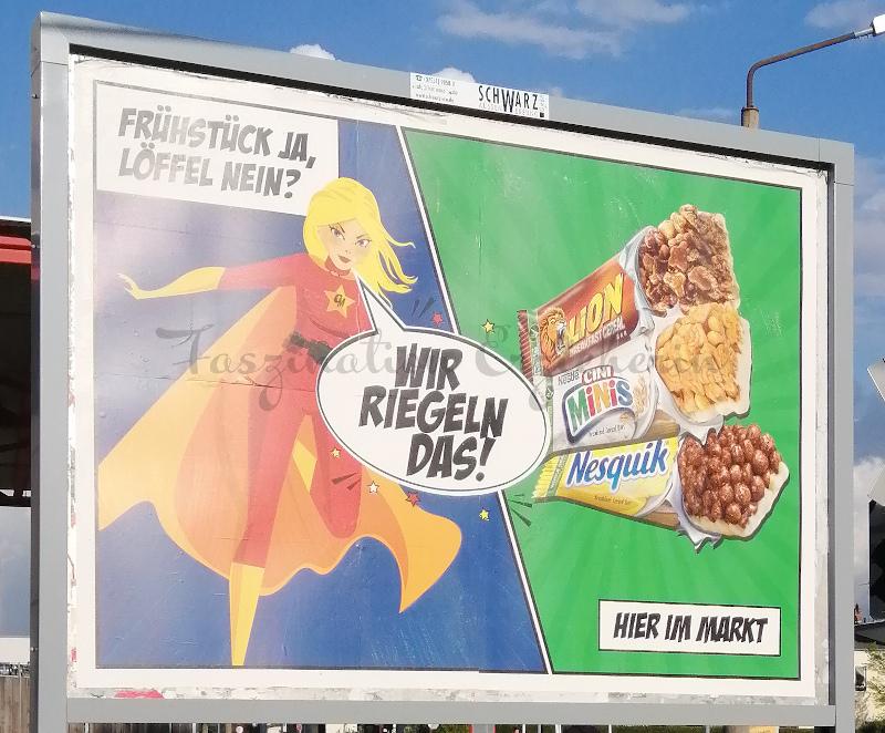 Nestle als Frühstück oder Süßigkeit?